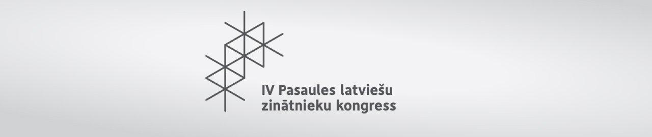 IV Pasaules latviešu zinātnieku kongress